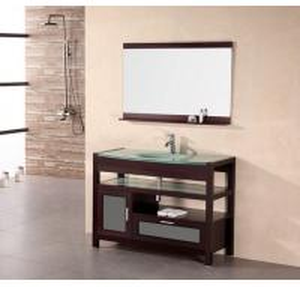 Buy cheap Double bowl bathroom vanity, cheap bathroom vanity sets product