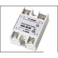 Buy cheap Fotek Type Electrical Relay / Solid State Variable Relay With LED Indication SSR-40DA product