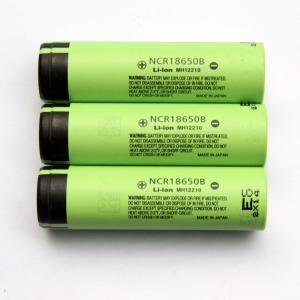 Buy cheap panasonic NCR18650B 3400mAh 3.7V rechargeable li-ion battery cells product