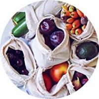cloth bags cotton bag linen bags fabric bags produce fruits vegetables grocery bulk food