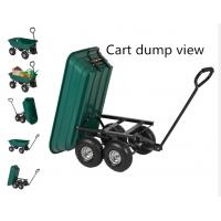 China PP tray material,dumping tool cart,various color tool carts,load 250kg tool carts ,good sales garden tool cart on sale