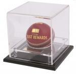 Buy cheap acrylic football display box basketball box  ball showcase product
