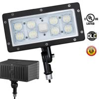Buy cheap LED Security Floodlight 5000K Outdoor LED Flood Light Cool White Photocell 70 Watt product