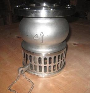 Buy cheap Remettez à l'opérateur solides solubles de levier la soupape d'aspiration d'acier inoxydable pour l'huile, liquide/soupape d'aspiration d'aspiration product