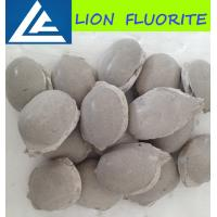 Buy cheap Fluorite ball/ CaF2 75% fluorite ball metallurgical grade fluospar/cement grade briquettes/uses of calcium fluoride product