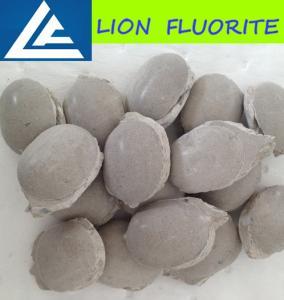 Buy cheap Fluorite ball/ CaF2 75% fluorite ball metallurgical grade fluospar/cement grade from wholesalers