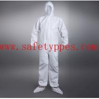 Buy cheap blue disposable coveralls sms coveralls anti static coverall disposable jacket product