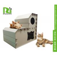 Buy cheap Customized corrugated cat scratcher Cardboard Home Furniture Pet House product
