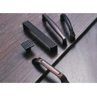 Buy cheap Red / Black Copper Door And Cabinet Handles With Deformation Resistance product