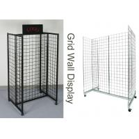 Buy cheap Gridwall Gondola Grocery Store Display Racks For Supmarket Iron Frame H Shape product