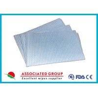 Buy cheap Household Printing Non Woven Cleaning Wipes , Disposable Spunlace Nonwoven Wipes product