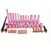 Buy cheap Copper Welding Gun Parts , Welding Torch Parts 46PK For WP 9 20 Series product