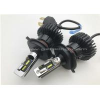 Buy cheap New Arrival 40W 6000LM T6 H4 All IN One Phi-Zes Car LED Headlight Kit High & Low Beam Light Bulbs product