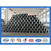 Buy cheap 40FT 11900mm 3mm Thick Octagonal Galvanized Electric Steel Poles product
