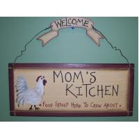 KITCHEN WOODEN WALL HANGING SIGNS COUNTRY KITCHEN DECOR HOME ACCENTS