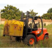 Buy cheap Powerful easy maintenance offroad terrian new 3.5T forklift truck for sale product