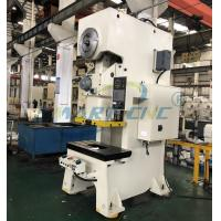 Buy cheap Mechanical Eccentric C Frame Power Press Machine 100 Ton With Single Crank product