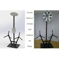 Buy cheap POP Alloy Wheel Metal Auto Parts Display Racks 3 Alloy Wheel Display Stand product