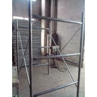 Quality H frame scaffolding hot dip galvanized for sale