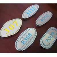 Buy cheap Osign Engraving Sheet ABS Material Full Color For Point - Of - Purchase Displays product