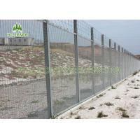 Sturdy 358 Security Fence / Galvanised Security Fencing For Factory Machine Guards