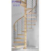 Buy cheap In Cheap Price Selling Solid Wood Spiral Staircase product