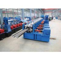Buy cheap 10m/min 2 inches Guide Rail Roll Forming Machine Material Thickness 1.5-2 mm from wholesalers
