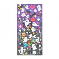 Buy cheap Ghost And Halloween Festival Kawaii 3D Stickers Children Fun PEVA material Non-toxic product