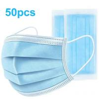 Buy cheap Adult Three Layers Disposable Face Mask Flexible Adjustable Earrings Eco friendly product