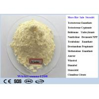 Buy cheap Light Yellow Trenbolone Enanthate Powder Cutting Cycle Steroid CAS 472-61-546 Parabola For Lean Muscle Mass product