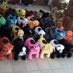 Buy cheap Hansel toys theme park motorized plush riding animals product