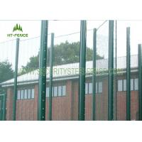 Anti - Corrosion 358 Security Fence Prison MeshWith Taper Post 85 * 45 * 85mm