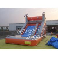 Safe Pirate Ship Inflatable Water Slide Playground For Commercial