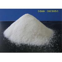 Buy cheap White Powder Local Anaesthesia Drugs D - Biotin CAS 58-85-5 For Reducing Blood Sugar product