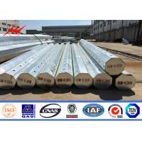 Buy cheap 16M 6.5kn 3mm polygonal hot-dip galvanized electric steel pole with wholesale price product