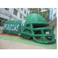 OEM Safety Oxford  Helmet Channel Inflatable Tent For Children Activities