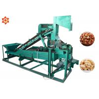 Buy cheap Low Energy Consumption Pine Nut Shelling Machine Electric Control 1 Year Warranty product