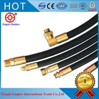China Black rubber hose  Synthetic Rubber CONCRETE PLACEMENT HOSE SERIES 7236 on sale