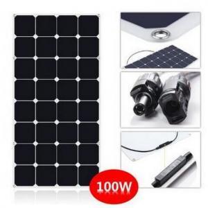 SunPower Flexible 100 Watt Solar Panel Kit For RV With CE ROHS Certificated