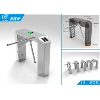 Access control system tripod turnstile stainless steel , 1 year warranty