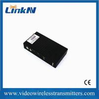 Quality 5km LOS transmission COFDM HD wireless transmitter with H.264 video compression for sale