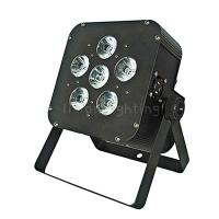 Buy cheap Cheap 6x10W RGBW 4in1 DMX Wireless Rechargable Lithium Battery Mini LED Flat Par from wholesalers
