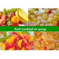 Buy cheap Ingredients In Mixed Canned Fruit Cocktail / Sweet Canned Assorted Fruit product