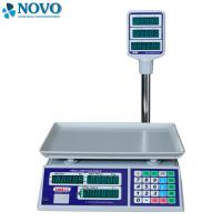 China Supermarket Electronic Scale Machine Give Change Function 50 Preset Memory Keys on sale