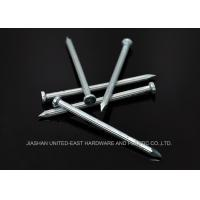 """Grooved Shank Electro Galvanized Nails Hard 2.5"""" X 3.8MM Diamond Point"""