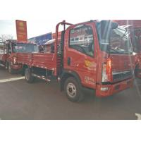 Buy cheap 84Hp Light Duty Commercial Trucks 5 Ton Loading Capacity Sinotruk HOWO from wholesalers