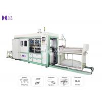 Buy cheap Vacuum Plastic Blister Forming Machine 220-480 Times / H Pneumatically Powered Clamp Frame product