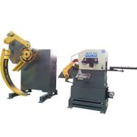 Buy cheap Auto Parts Stamping Processing MAC Coil Feeder Straightener Material Leveling Adjustment product