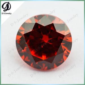 Buy cheap 梧州市DSの宝石類の緩く総合的な宝石用原石の値段表、暗闇-オレンジczの宝石用原石の市場Pric product