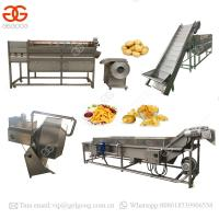 Buy cheap High Quality Plants Automatic Sweet Frozen French Fries Making Producing Line Potato Chips Making Machine Price product